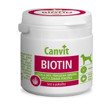 Canvit Biotin - přípravek pro zdravou a lesklou srst 100 tbl. / 100 g