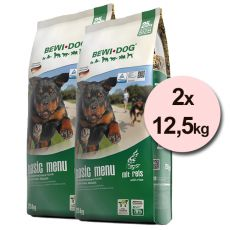 BEWI DOG BASIC MENU 2 x 12,5 kg