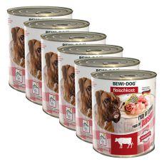 New BEWI DOG konzerva – Hovězí dršťky - 6 x 800 g, 5+1 GRATIS
