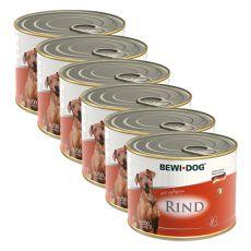 Bewi dog Paté – Rind - 6 x 200 g, 5+1 GRATIS