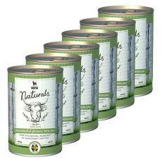 Bozita Naturals Beef - konzerva, 6 x 410 g