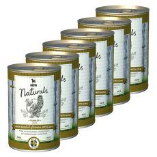 Bozita Naturals Turkey - konzerva, 6 x 410 g