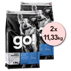 Petcurean GO! Daily Defence - 2 x 11,33 kg