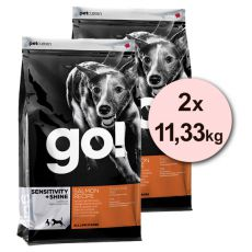 Petcurean GO! Sensitivity + Shine - 2 x 11,33 kg