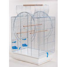 Klec pro papouška EMMA CABRIO chrom - 54 x 39 x 73 cm