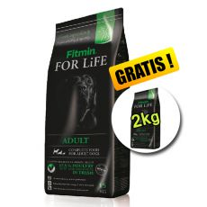 Fitmin FOR LIFE Adult All Breeds 15+2kg ZDARMA
