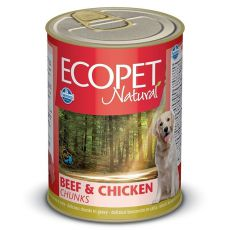 Farmina MO P ECOPET dog Bicolore Beef & Chicken konzerva 1250 g