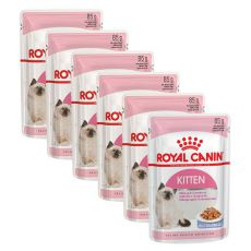 Royal Canin KITTEN Instinctive in Jelly 6 x 85 g - želé v kapsičce