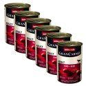 Konzerva GranCarno Original Adult hovězí maso a srdce - 6 x 400 g