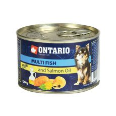 Konzerva ONTARIO Multi Fish a lososový olej – 200 g