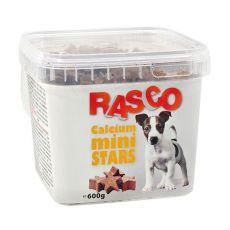 Pamlsky RASCO - minihvězdičky kalciové, 600 g