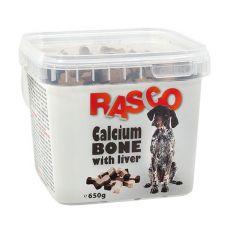 Pamlsky RASCO - kost kalciová s játry, 650 g