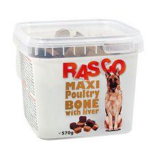 Pamlsky RASCO - maxikost drůbeží s játry, 570 g