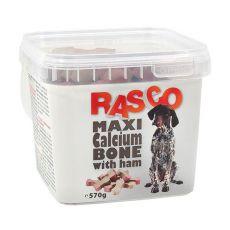 Pamlsky RASCO - maxikost kalciová se šunkou, 570 g