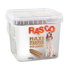 Pamlsky RASCO - maxistarstick s drůbežím, 800 g