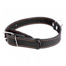COLLAR kožený obojek pro psa - 38-50 cm, 25 mm - černý