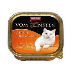 Animonda Vom Feinsten Adult Cats - s drůbeží a telecím 100 g