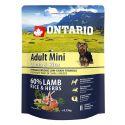 ONTARIO Adult Mini Lamb & Rice 0,75kg