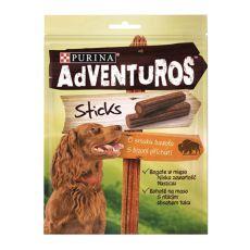 Purina ADVENTUROS Sticks - bizon 4 ks, 120 g