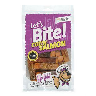 "Pamlsky BRIT Lets Bite - Cod ""N"" Salmon, 80 g"