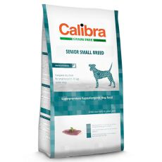 CALIBRA Dog GF Senior Small Breed Duck 7kg