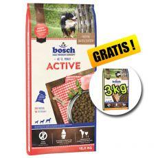 Bosch ACTIVE 15 kg + 3 kg Adult Drůbeží a Proso ZDARMA