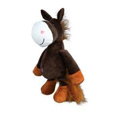 Plyšová hračka pro psa, kůň - 32 cm