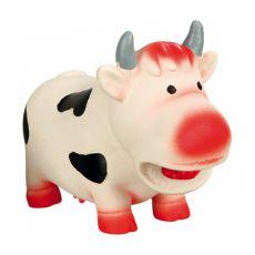 Hračka pro psa - latexová kráva, 19 cm