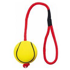 Gumový pěnový míč na lanku - 6 cm