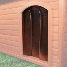 Plastová dvířka k psí boudě NATURA M, 22 x 35 cm