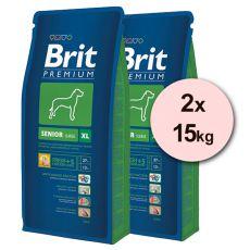 Brit Premium Senior XL – 2 x 15 kg