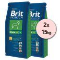 Brit Premium Senior XL - 2 x 15 kg