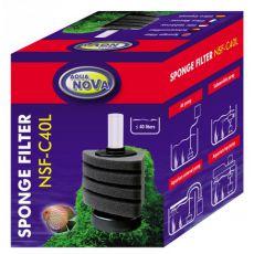 Molitanový filtr NSF-C40L – rohový