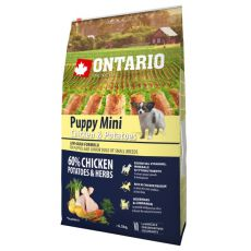 ONTARIO Puppy Mini – chicken and potatoes 6,5 kg