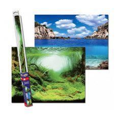 Pozadí do akvária PLANTS/OCEANS S - 60 x 30 cm
