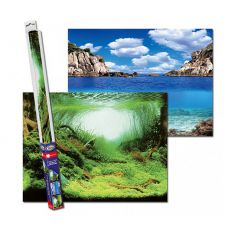 Pozadí do akvária PLANTS/OCEANS L - 100 x 50 cm