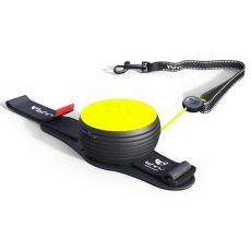 Lishinu NEON handsfree vodítko do 30 kg, 3m - žluté