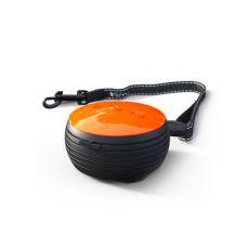 Lishinu NEON Light Lock handsfree vodítko, 3 m – oranžové
