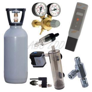 CO2 AAA set 2 kg + pH metr ZDARMA