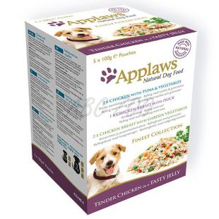 Kapsičky APPLAWS dog FINEST SELECTION 5 x 100 g