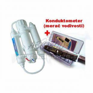 Reverzní osmóza 190 l + konduktometr ADWA