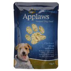 Kapsička APPLAWS dog kuřecí maso, losos a řasa 150 g