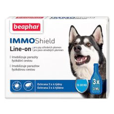 "BEAPHAR IMMO SHIELD PES ""M"" 3 x 3 ml"