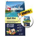 ONTARIO Adult Mini 7 Fish & Rice 6,5kg + 0,75kg