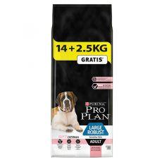 Purina PRO PLAN ADULT Large Robust Sensitive Skin 14kg + 2,5kg