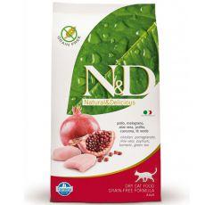 Farmina N&D cat GF ADULT Chicken & Pomegranate 5 kg