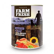 Farm Fresh – Calf with Sweet Potatoes 400 g