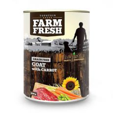 Farm Fresh – Goat with Carrot 400 g