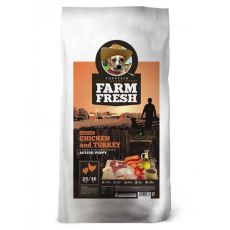 Farm Fresh Chicken and Turkey Active/Puppy GF 15 kg