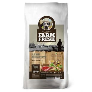 Farm Fresh Lamb Sensitive Active/Puppy 15 kg